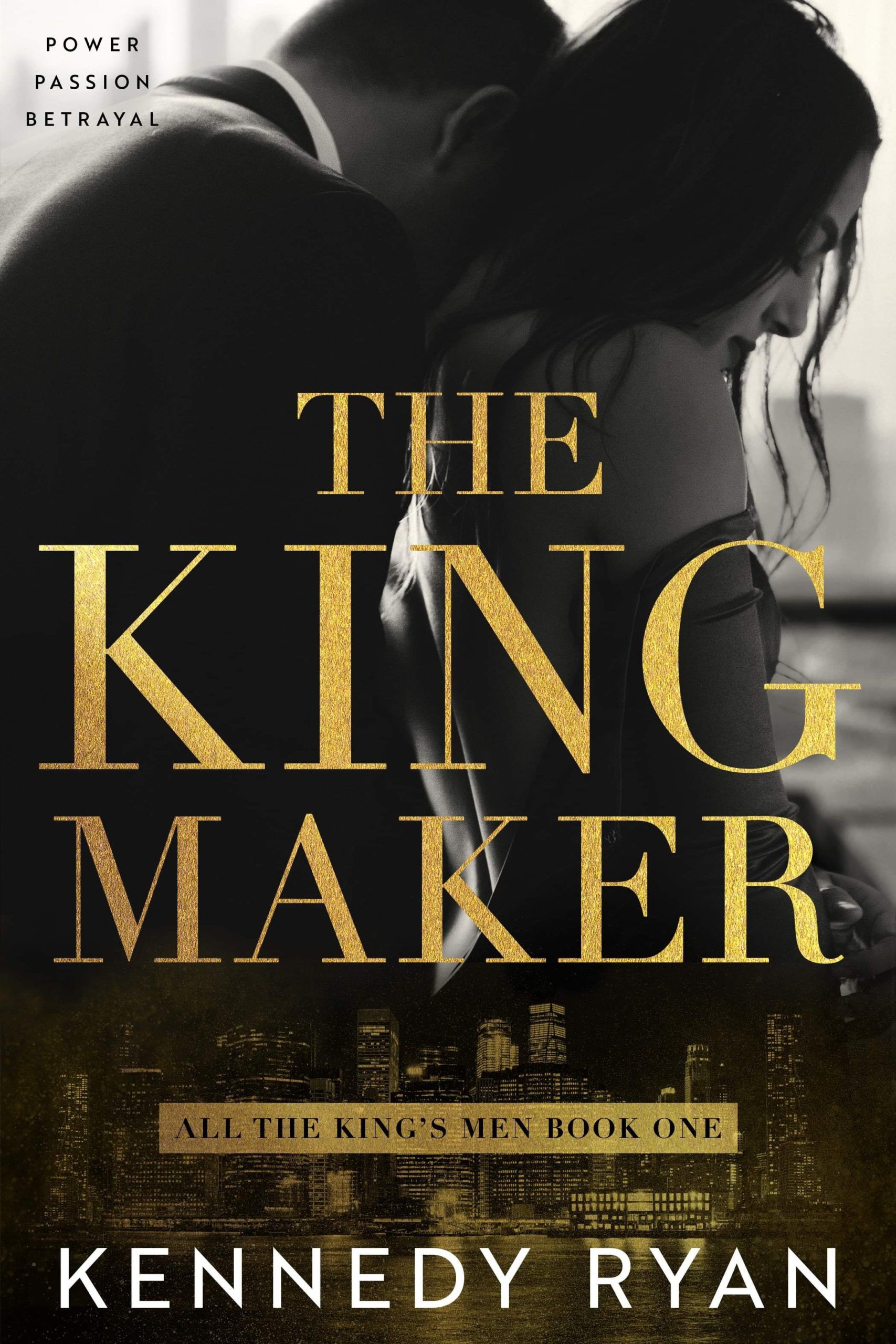 The Kingmaker Book Cover. Social justice romance.