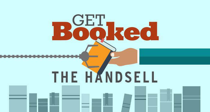 Get Booked The Handsell cover