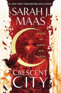 cover image of crescent city by Sarah j.maas