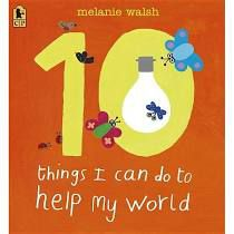 10 Things I Can Do to Help My World book cover