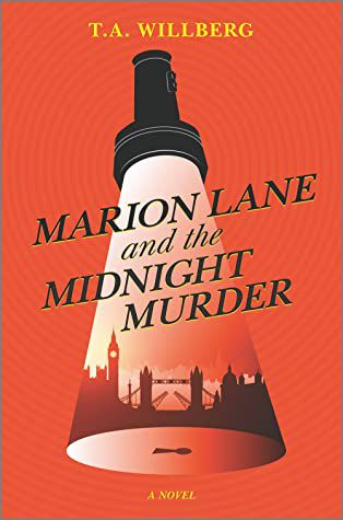 marion lane and the midnight murder book cover