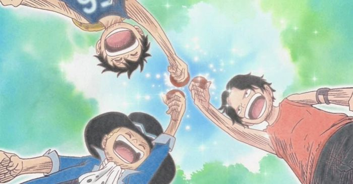 one piece film still for manga friendships
