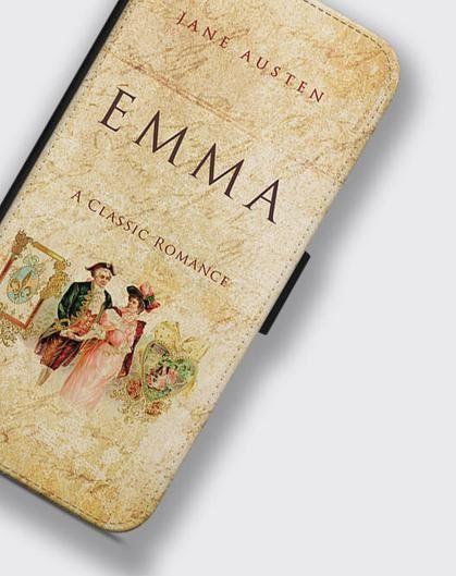 Emma by Jane Austen book cover phone case