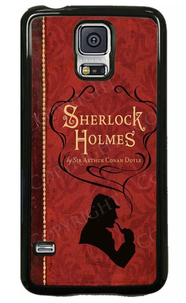 Sherlock Holmes by Arthur Conan Doyle book cover phone case