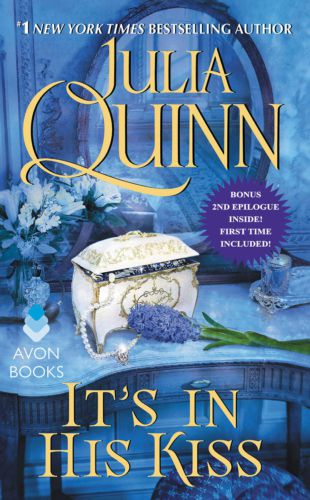 cover of It's In His Kiss by Julia Quinn
