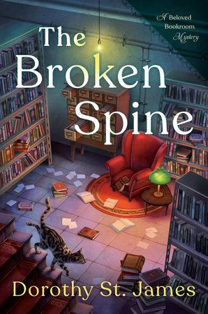 The Broken Spine cover