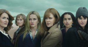 Nicole Kidman, Laura Dern, Meryl Streep, Reese Witherspoon, Shailene Woodley, and Zoë Kravitz in Big Little Lies (2017)