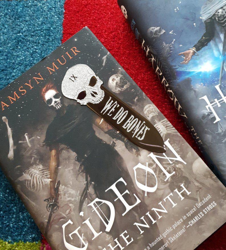 Gideon the Ninth We Do Bones bookmark