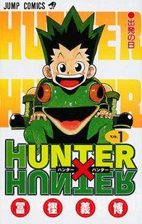Cover of Hunter x Hunter for Shonen Manga