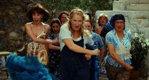 Meryl Streep, Christine Baranski, and Julie Walters in Mamma Mia! (2008)