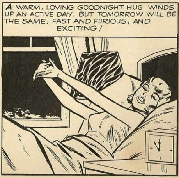 Image of panel from Barbie and Ken comic.