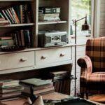 cozy reading room