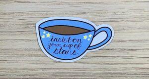 Cup of stars sticker
