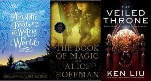 Collage of three new Fall 2021 audiobook releases