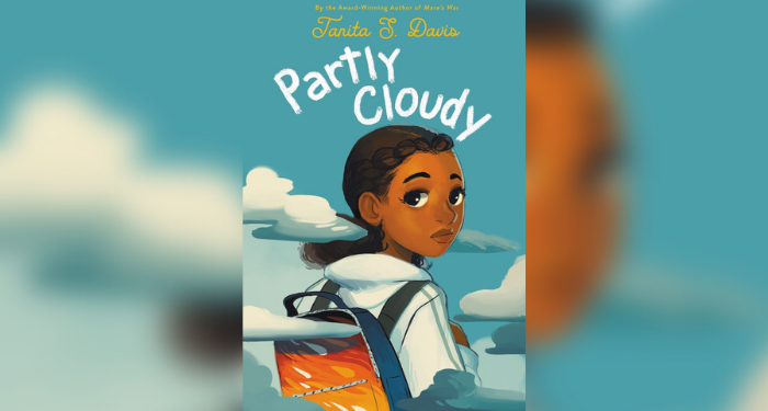 Partly Cloudy cover with blurred background