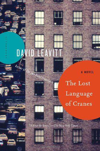 The Lost Language of Cranes_Leavitt cover