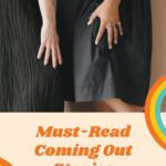 Pinterest image for coming out stories