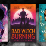 covers of the books listed against a smoke background